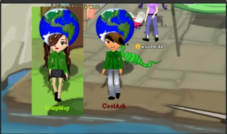 CooAsh and I in Earth Day Outfits!